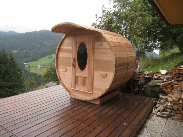 sauna extérieur   histoire d'Ô - Cabine Sauna Exterieur
