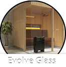 Sauna Evolve Glass Front