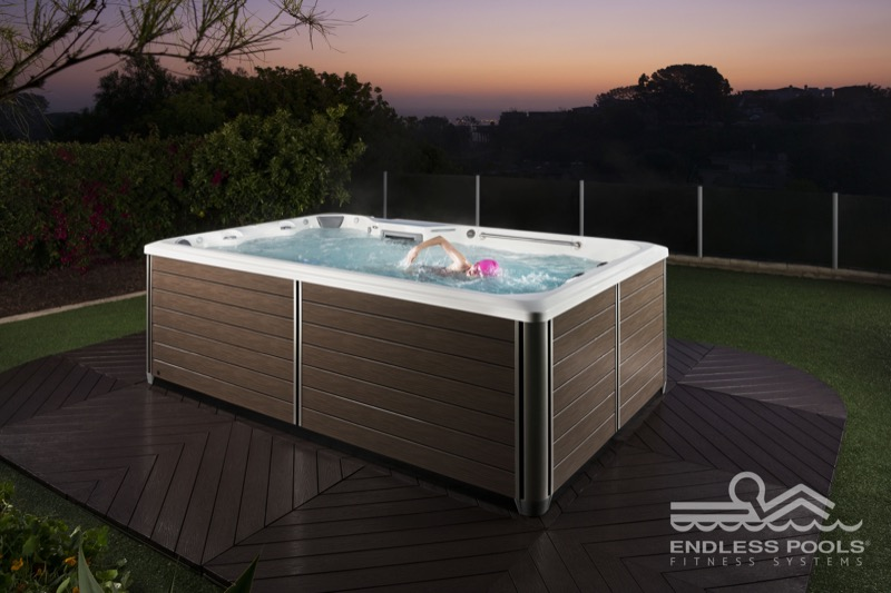 Spa de nage endless pool x200 histoire d 39 - Spa de nage dimension ...