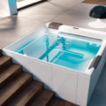 Hydromassage mini piscine